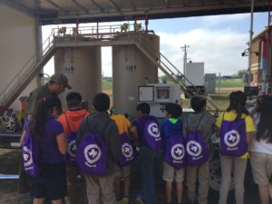 """""""Carrizo Springs intermediate School appreciates how SM Energy is always eager to take part in our Career Fair. The team inspires students to look forward to future career endeavors. They offer strategies on achieving goals in the diverse job opportunities available at this amazing company."""" - Joann Sosa, Counselor"""